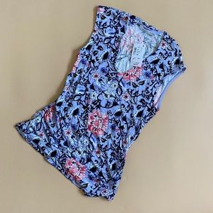 🍋4 for $20🍋 NWT! Sleeveless Lilac Floral Top